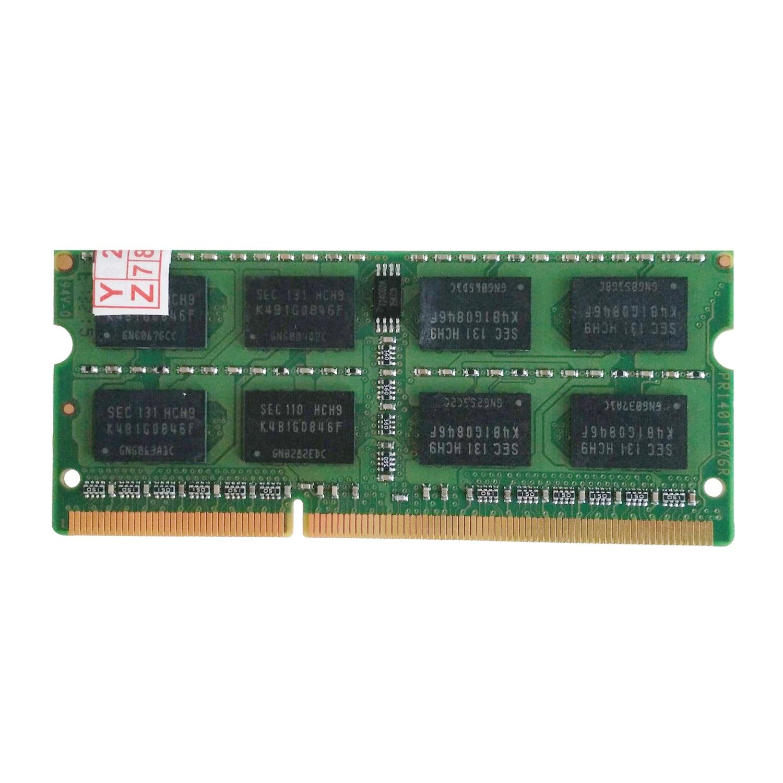 YOC 5psc/lot Supplémentaires mémoire 2 GB PC3-12800 DDR3 1600 MHZ Mémoire pour ordinateur portable PC