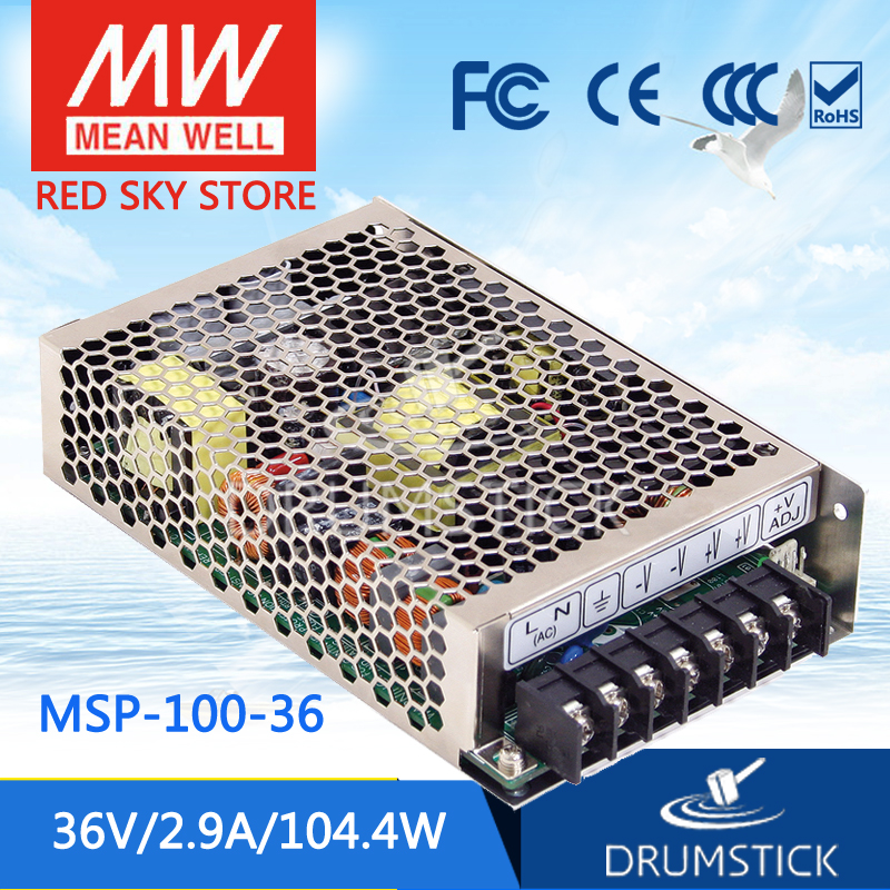 100% Original MEAN WELL MSP-100-36 36V 2.9A meanwell MSP-100 36V 104.4W Single Output Medical Type Power Supply 100% original mean well msp 100 36 36v 2 9a meanwell msp 100 36v 104 4w single output medical type power supply