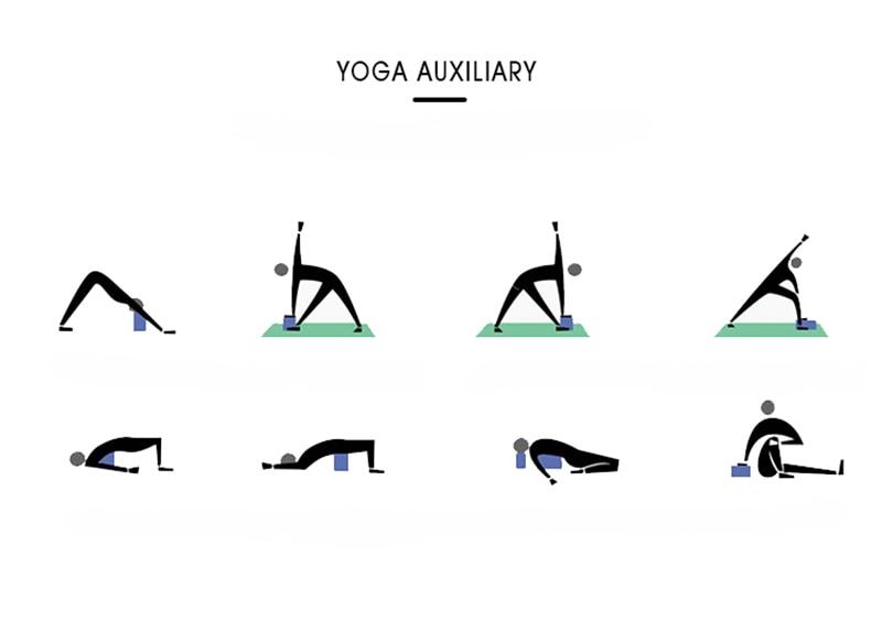 2pcs Yoga/Pilates Blocks 5 colours