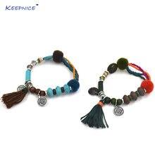 Ювелирные изделия ручной работы в богемном стиле кожаные браслеты