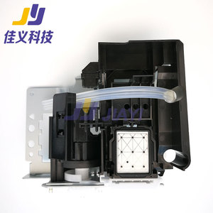 Image 2 - Sıcak satış ve en iyi fiyat DX5 baskı kafası mürekkep pompası sistemi baskı kafası temizleme meclisi kapak istasyonu Mutoh VJ1604 mürekkep püskürtmeli yazıcı