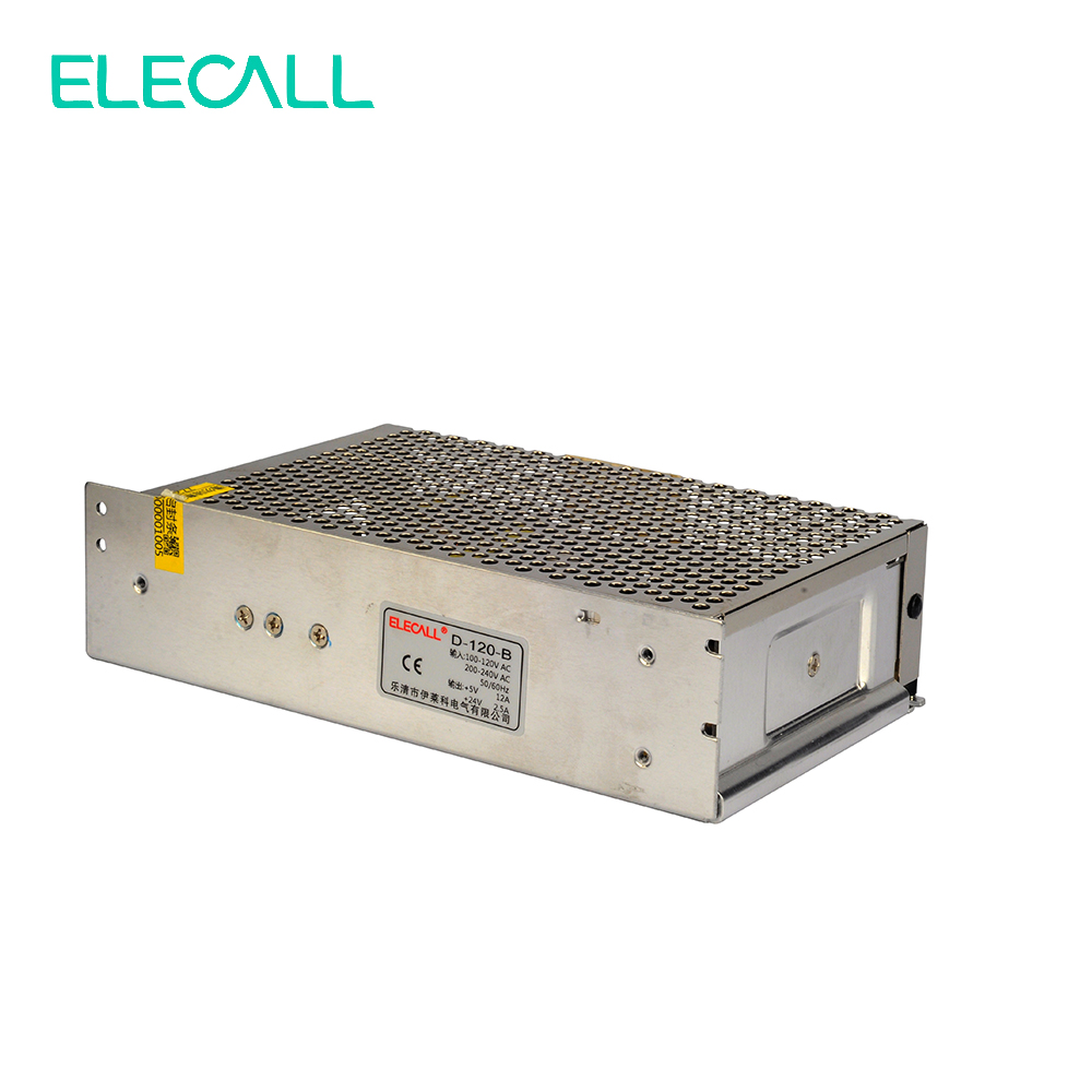 5V 6A / 24V 4A 120W Dual Sets Of Voltage Output Switching Power Supply Transformer DC Monitoring Security D-120B nc dc dc dc adjustable voltage regulator module integrated voltage meter 8a voltage stabilized power supply