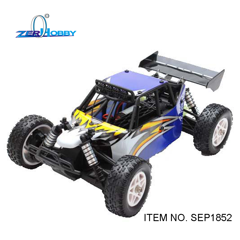 hsp racing rc car plamet 94060 1 8 scale electric powered brushless 4wd off road buggy 7 4v 3500mah li po battery kv3500 motor 1/18 rc car electric powered off road 4wd desert buggy brushless motor speed 50km/h (item no. SEP1852)