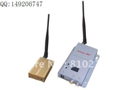 wireless transmitter 1.2G 15 CH 1200mW  500M---1500M