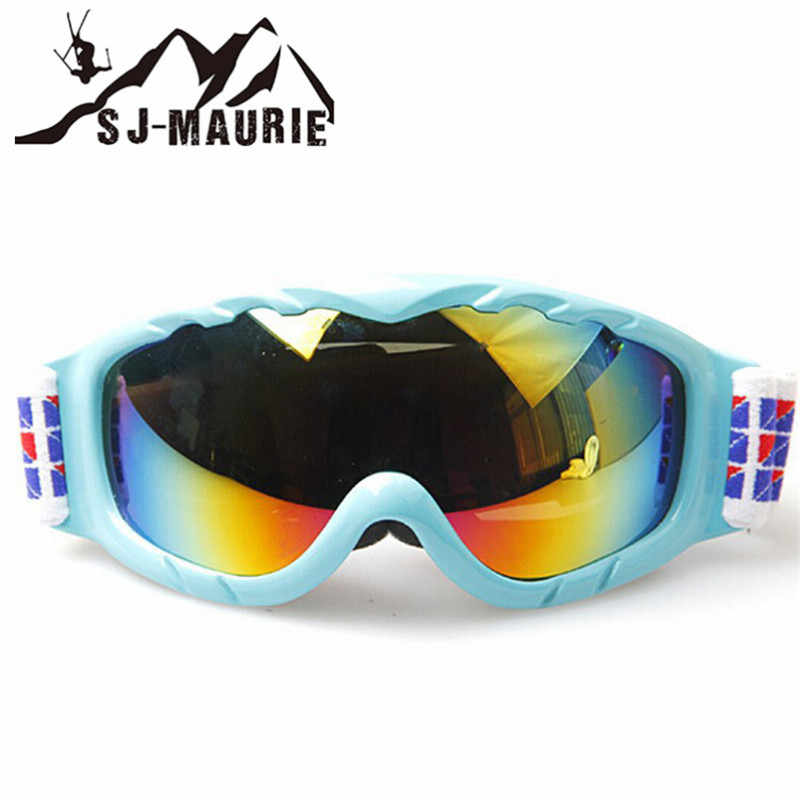 b4d0e0505f30 SJ-Maurie Children Skiing Glasses Kids Ski Goggles Climbing Double Layers  UV400 anti-fog