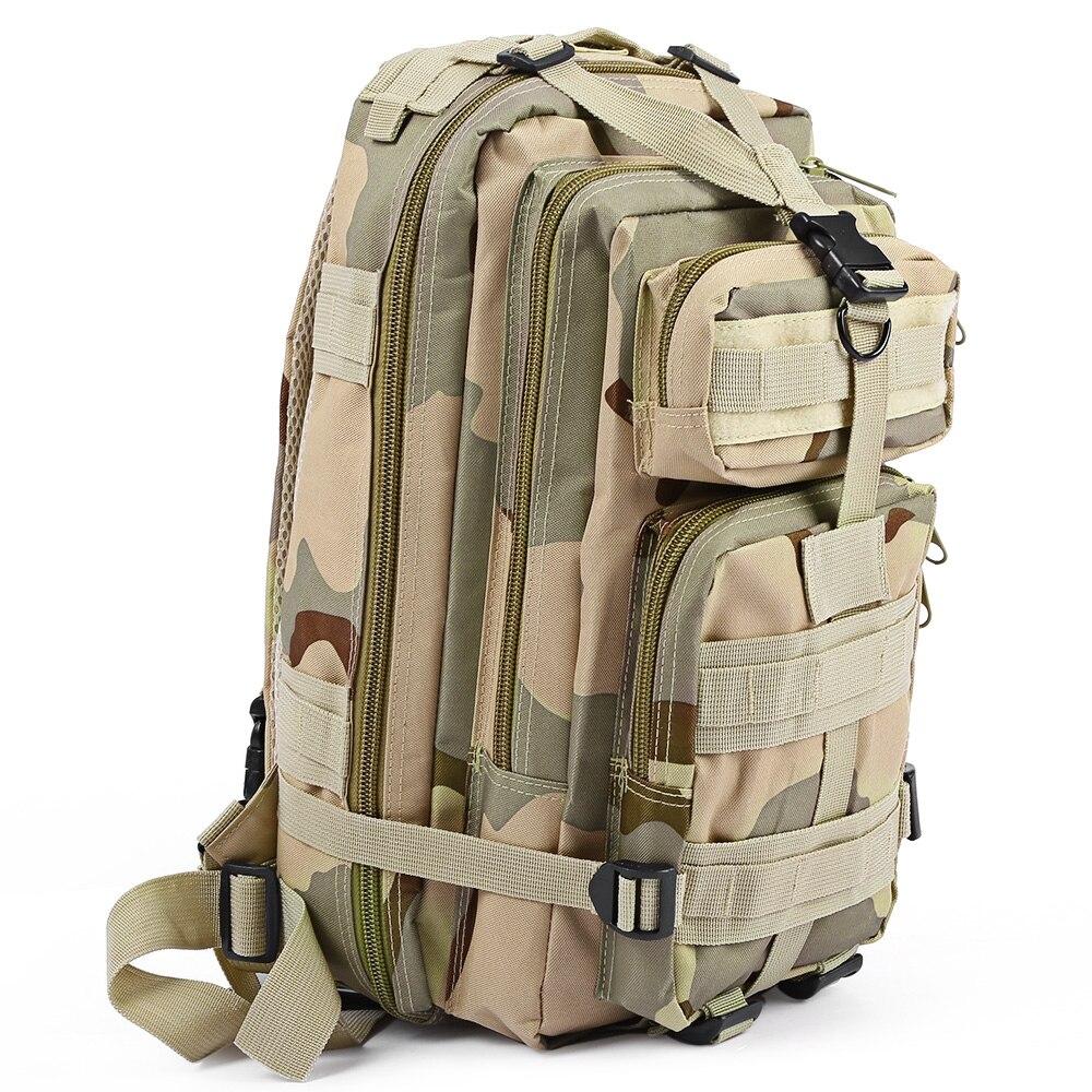 3 P Rucksack Militärische Rucksack Oxford Sport Tasche 30L für Camping Klettern Taschen Reisen Wandern angeln Taschen