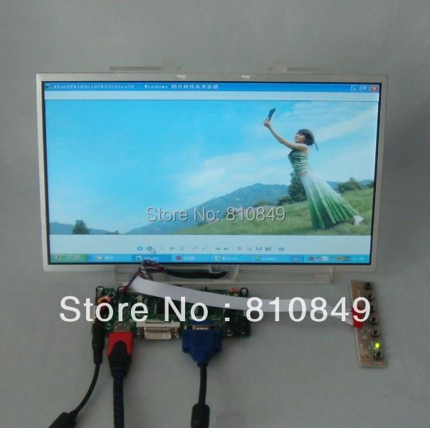 HDMI+DVI+VGA Control board+13.3inch 1366*768 N133B6 LP133WH1 LTN133AT17 LCD жк экран для ноутбука n116bge l11 11 6 n116bge l11 1366 768