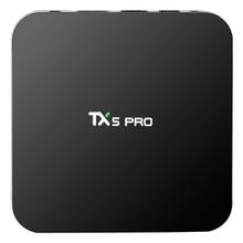 TX5 Pro S905X H.265 Amlogic de Cuatro Núcleos Cuadro de TV Android 6.0 2.4G + 5.8G wifi Reproductor Multimedia Inteligente Bluetooth 4.0 RAM 2 GB ROM 16 GB Caja de la TV