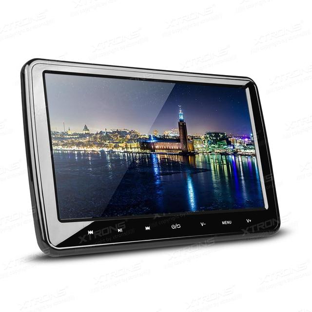 10 1 car headrest dvd monitor player 1024 600 hdmi port. Black Bedroom Furniture Sets. Home Design Ideas