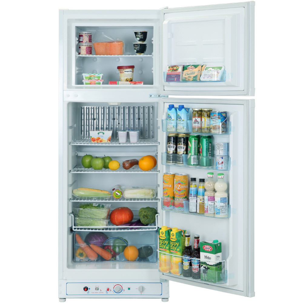 refrigerator 7 5 cu ft. smad 7.5 cu ft 110v/220v lp gas refrigerators big capacity home low noise electric absorption propane fridge freezers -in from refrigerator 7 5 e
