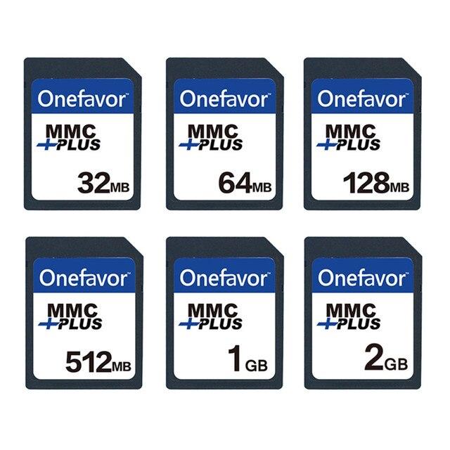 5 stks onefavor 32 mb 64 mb 128 mb 256 mb 512 mb 1 gb MMC MultiMedia Card 13 PINS voor Oude Camera