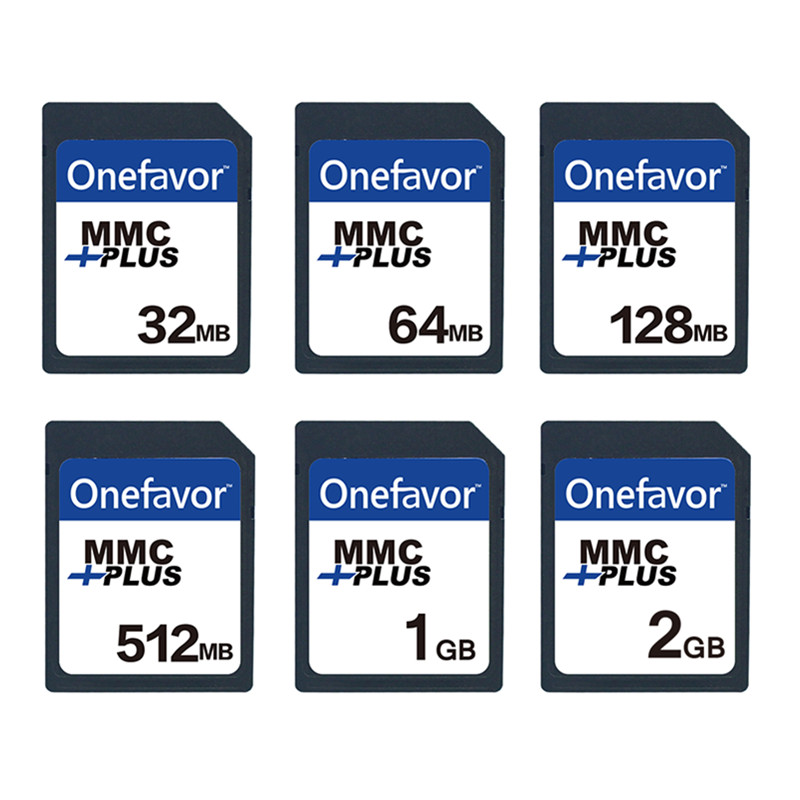 5pcs onefavor 32MB 64MB 128MB 256 MB 512MB 1GB MMC MultiMedia Card 13PINS  for Old Camera-in Memory Cards from Computer & Office