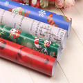 1Pcs Christmas wrapping paper  cheap decorations Paper Bag gift dust jacket