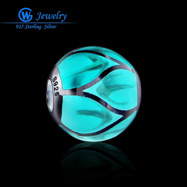 GW Fine Jewelry Glow In The Dark Kit Jewelry Magic Charms 925 Sterling Silver Fairy Charm Maxi Necklace Bracelets AMLD001BH10