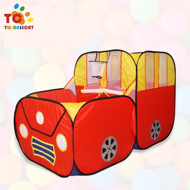 Giocattoli gioco tenda oceano cartone animato gioco di auto grande