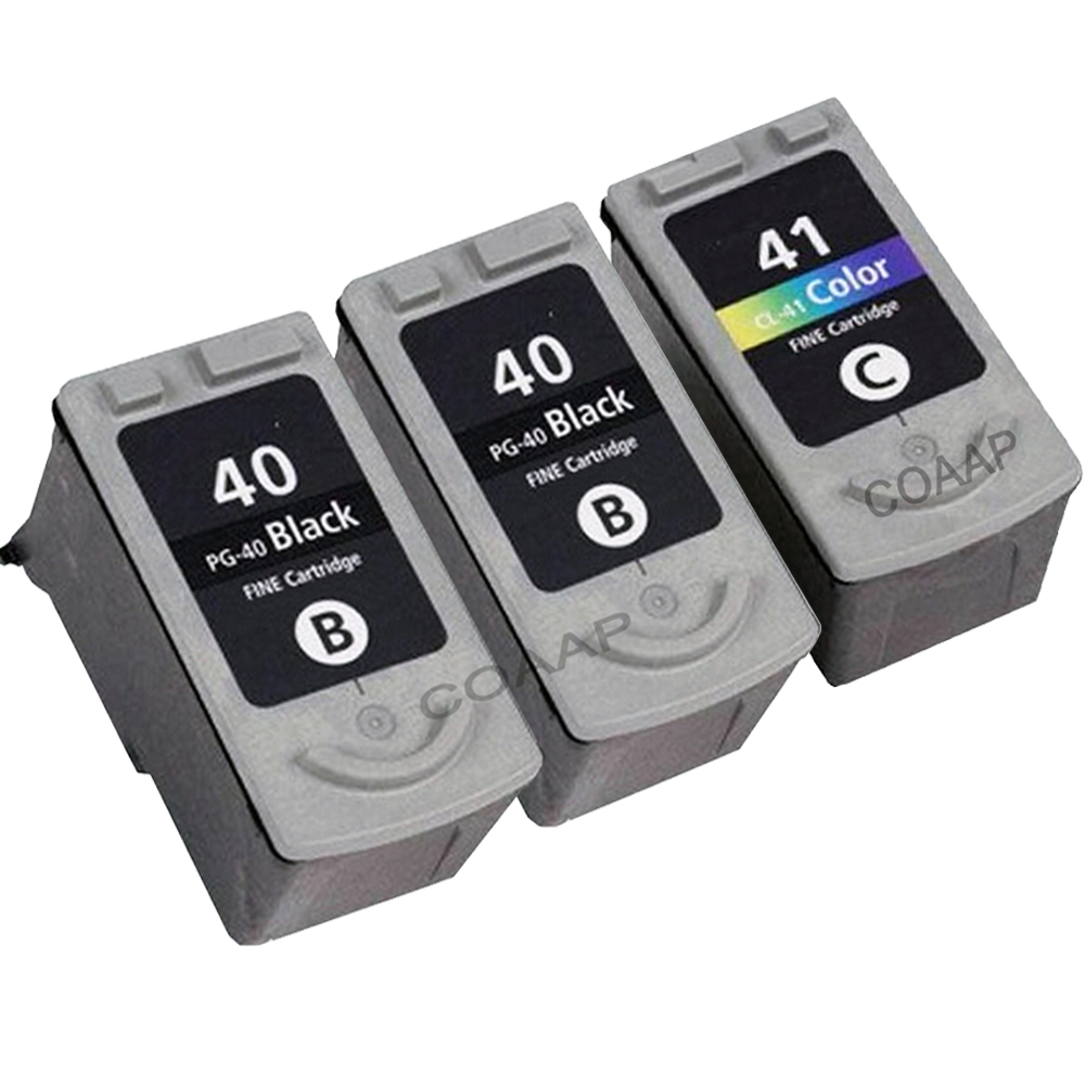 3 pcs PG40 CL41 Ink Cartridge for CANON Pixma MP210 MP450 MP470 MP160 MP180  MP140 MP460 MP220 MP190 MP170 MP150 MX300 MX310-in Ink Cartridges from  Computer ...