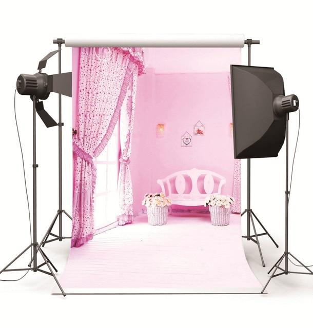 fotografa foto estudio de fondo para el beb nios girl pink room vinilo teln de fondo