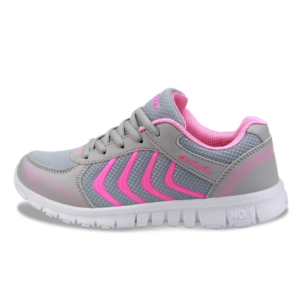 Tenisice Turističke cipele za žene Ouble Sportske cipele Trčanje Neto tkanina Sportske cipele jardi Super Light Flat Putničke ženske cipele