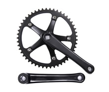 Fixed Gear Bike 46T Crankset  chainwheel accessories Cranks Single  Speed road Bicycle Crankset free shipping original ck 0sc8090 fas 34 50t 110bcd 170 175 bb30 cnc road bike crankset chainwheel