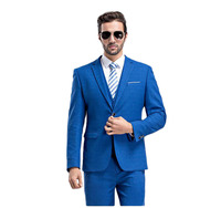 2019 Blue Black Plaid Wedding Suits Groomsmen Best Man Suits Groom Wear Tuxedos (Jacket+Pants+vest) Business Suit terno noivo