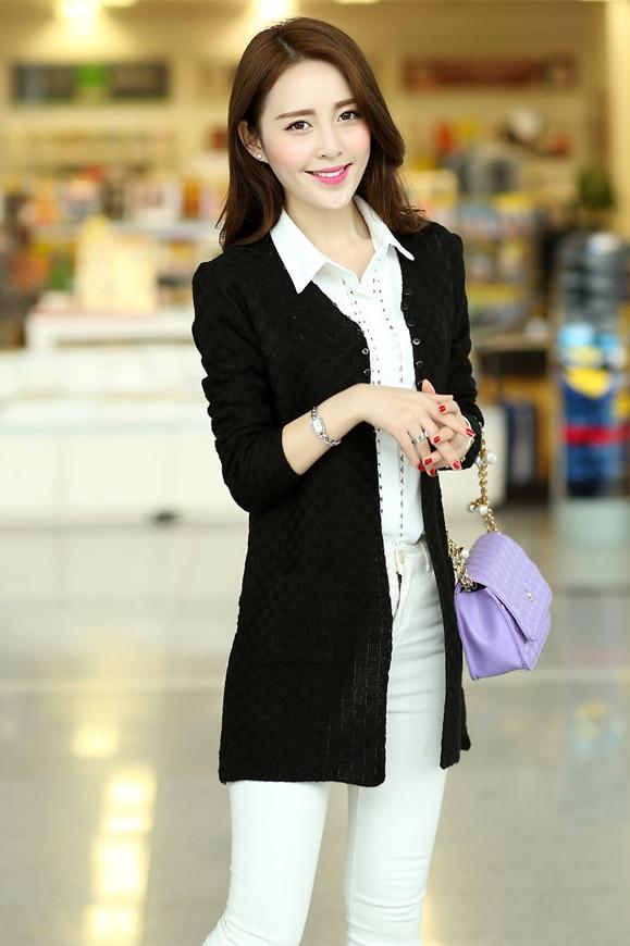 TONGMAO 2018 frühjahr verkauf Korean fashion damen langärmeligen pullover mantel jacke Schlanke damen gestrickte pullover strickjacke