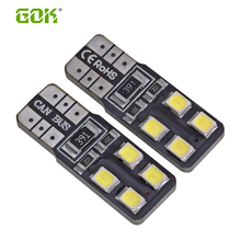 50pcs/Lot Canbus T10 8smd 2835 LED Canbus car Light W5W t10 led canbus 194 2835 SMD Error Free White Light Bulbs(China)