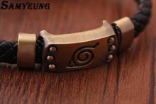 Naruto Leather Bracelet