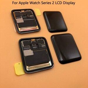 Image 4 - Pantalla LCD para Apple Watch Serie 2, prueba de 100%, Digitalizador de Pantalla táctil, Serie 6, 40mm, 44mm, negra