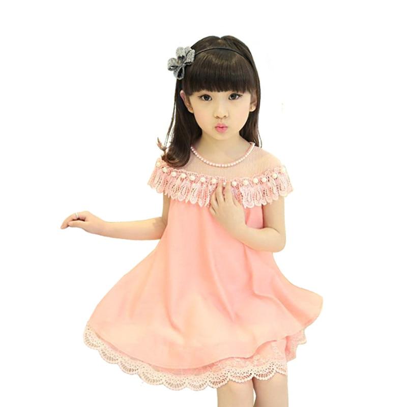 Musim panas Gadis Gaun Malam 2016 Anak Kostum Pakaian Anak-anak Gaun - Pakaian anak anak