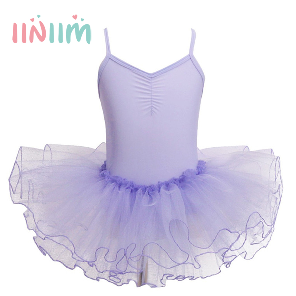 Girls Kids Tutu Gymnastics Ballet leotard Dancer Dress Ballerina Costumes Tulle Princess Birthday Party Costume Party Dress new girls ballet costumes sleeveless leotards dance dress ballet tutu gymnastics leotard acrobatics dancewear dress