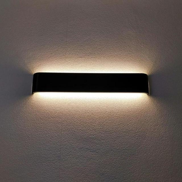 Modern minimalist LED aluminum lamp bedside lamp wall lamp room bathroom mirror light direct creative aisle Home Decor & Toys