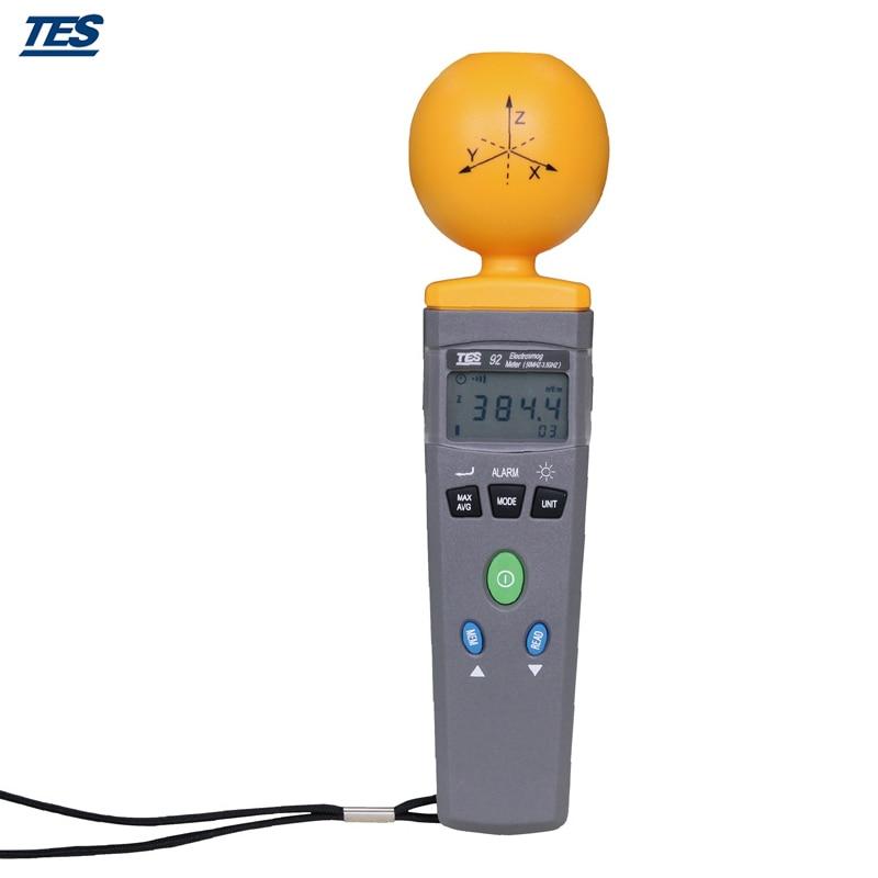 اندازه گیری تابش الکترومغناطیسی TES-92 - ابزار اندازه گیری