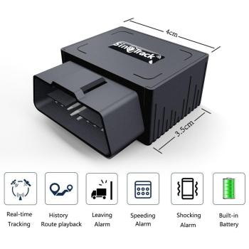 OBD II GPS Tracker 16PIN OBD Plug Play Car GSM OBD2 Tracking Device GPS locator OBDII with online Software IOS Andriod APP 2