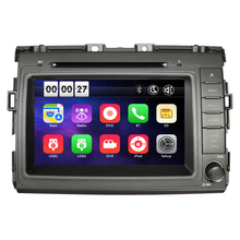 Free Shipping Two Din 8 Inch Car DVD Player For TOYOTA ESTIMA GPS Navigation Radio WIFI Bluetooth steering wheel control