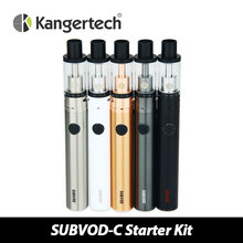 100% Authentic Kanger SUBVOD-C Full Kit 2.8ml Kangertech Subtank Nano-C Tank Atomizer Top Filling & 1300mAh SUBVOD Battery E-cig