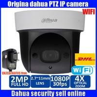 Dahua Мини Wi Fi PTZ 4x оптический зум ИК расстояние до 30 м SD карты рекордер памяти DH SD29204S GN W SD29204S GN W купольная камера PTZ