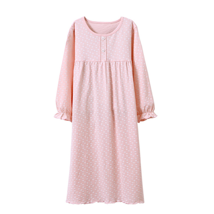 Vopmocld Girls Cute Cartton Patterns Printed Nightgowns Lovely Sleepwear for Age 2-12 Years