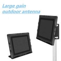 AH LINK High Gain Digital HDTV Antenna 150 Miles Outdoor Indoor TV Antenna Signal Reception Amplifier Booster ATSC DVB TV Aerial