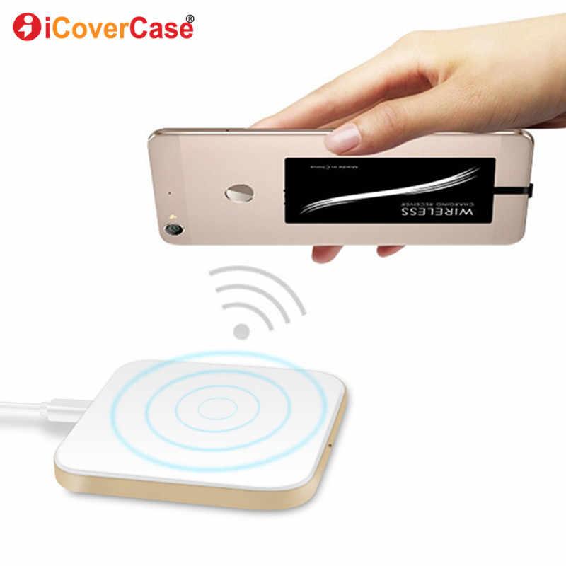 Bezprzewodowa ładowarka qi do Samsung Galaxy A80 A70 A60 A50 A40 A30 A20 A10 ładowarki bezprzewodowy odbiornik ładowania i etui na telefon