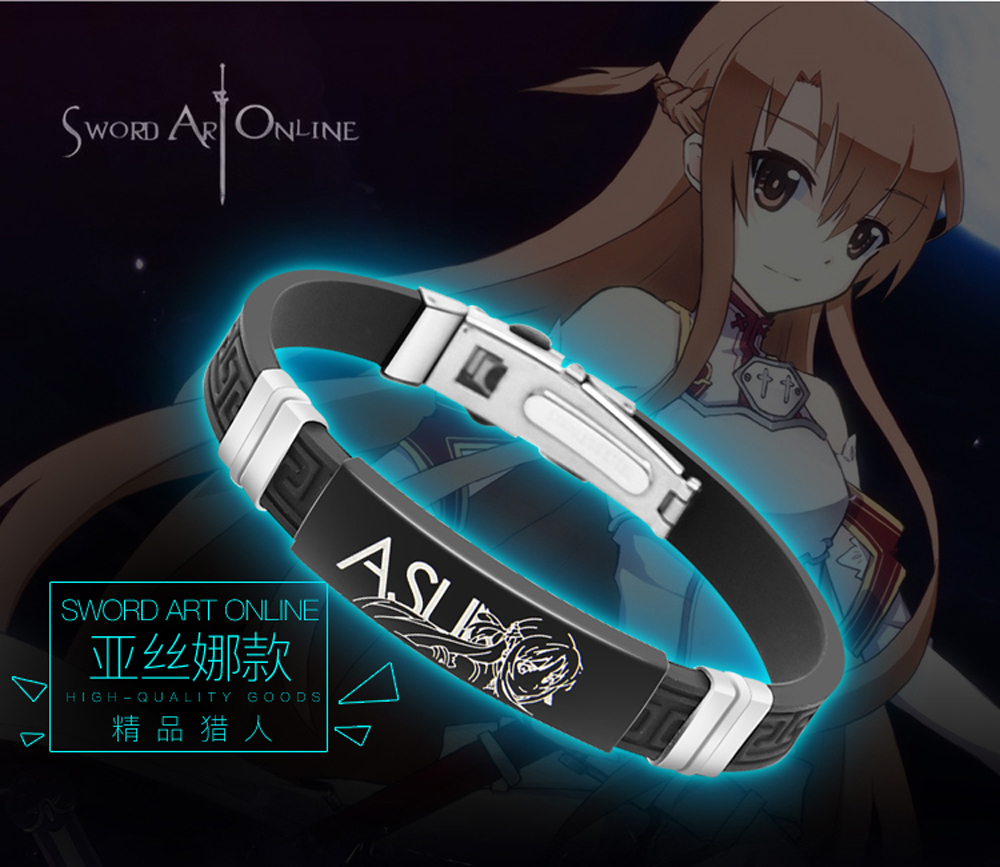 Sword Art Online Wristband with effect