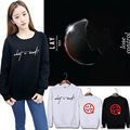 EXO sweater kpop clothes Album monster Concerts Pullover Women