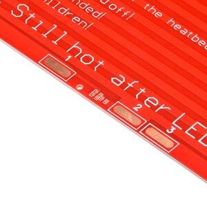 Image 5 - MK2A cama caliente 300x200x2,0 con resistencia led y cable RepRap rampas 1,4 + 100K ohm NTC 3950 termistores para impresora 3D