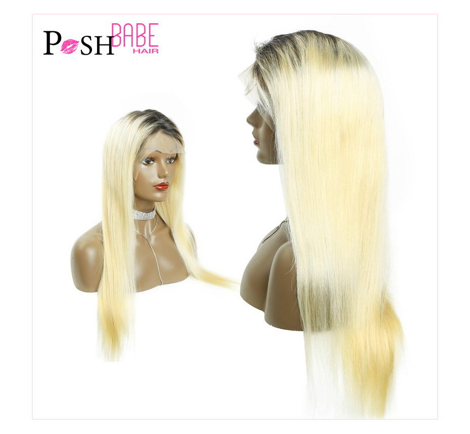 Blonde Lace Front Human Hair Wig (5)
