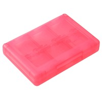 28 In 1 Game Card Memory Card Stylus Storage Case For Nintendo For 3DS XL Pink