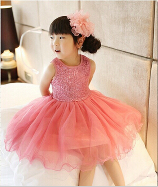 Girl Dress 2018 Summer Baby Girls Baptism Dresses Sequins Children Clothes Princess Tutu Infant Clothing kids Costume vestidos summer girl dress princess tutu toddler vestidos children clothing minnie sleeveless baby girls dresses casual kids clothes