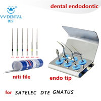 Dental tooth whitening scaler endo tip endodontic ultrasonic tips root canal file for DTE SATELEC GNATUS