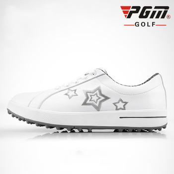 Genuine PGM Golf Shoes for Women Golf Sports Leisure Shoes without Nails Super Fiber Waterproof Shoes