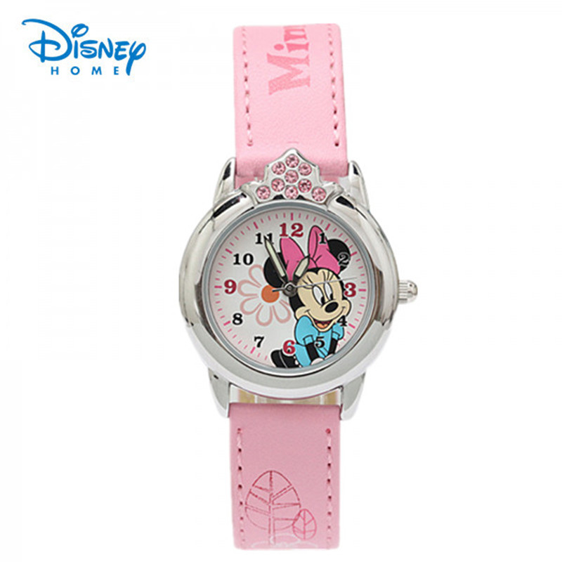100% Genuine Disney Mickey Minnie watch Fashion Quartz Watch for kids luxury watch men Casual Wristwatches christmas gift 47901