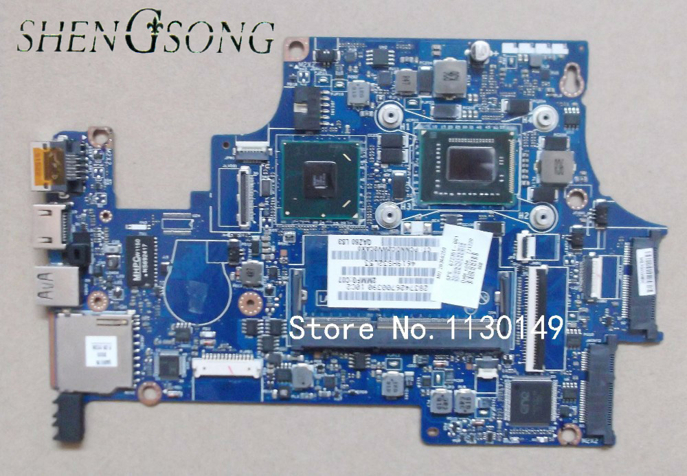 Laptop motherboard 672351-001 for HP FOLIO 13 13T motherboard I3-2367M 1.4G HM65 UMA , tested 100% working 574680 001 1gb system board fit hp pavilion dv7 3089nr dv7 3000 series notebook pc motherboard 100% working