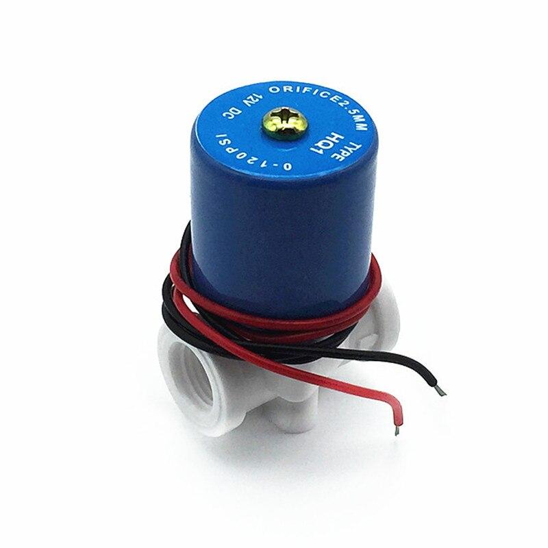 Erfinderisch Magnetventil Stromlos Geschlossen Wasser Ventil G1/4 dc12v Dc24v 2-weg 0-120psi Gesundheit FöRdern Und Krankheiten Heilen Ventil Sanitär